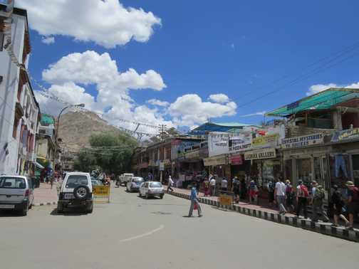 Downtown Leh