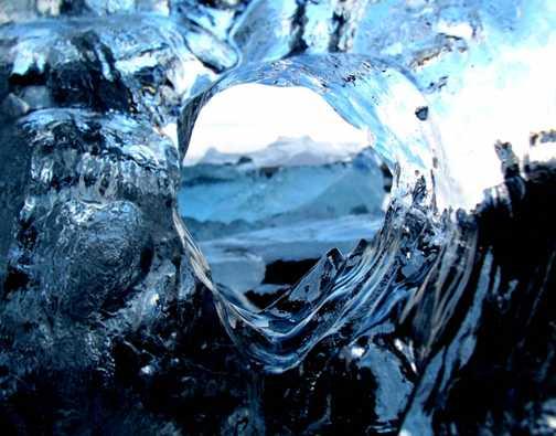 ice glimpse