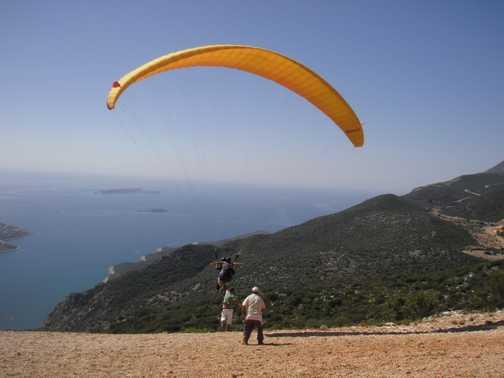 Paragliding - Zoe