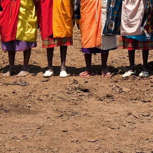 Young Warriors, Masai village