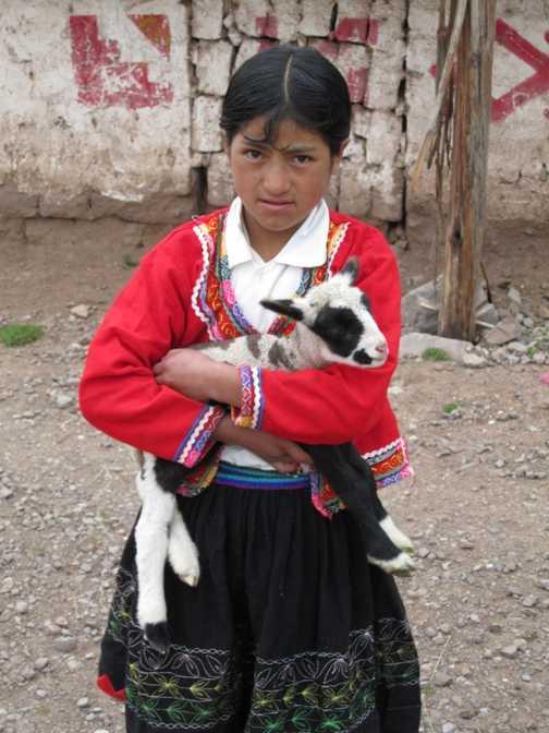 Girl in Cuzco