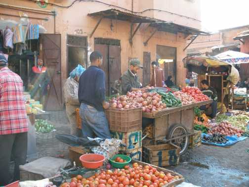 Backstreets of Marrakech