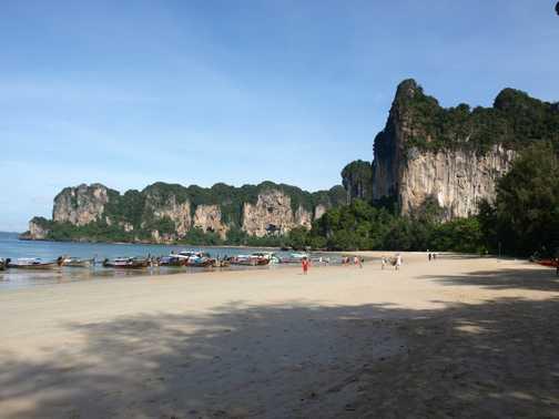Beach at Railay