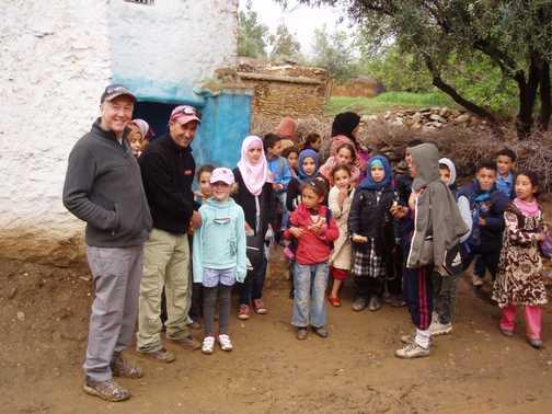 'School's out', Berber children