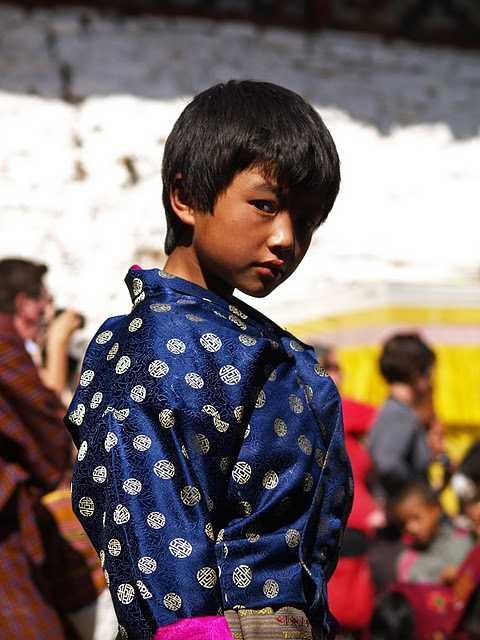 Dancer at Wangdi festival