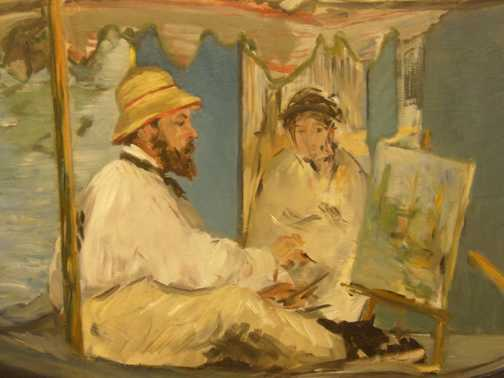 Monet by Manet
