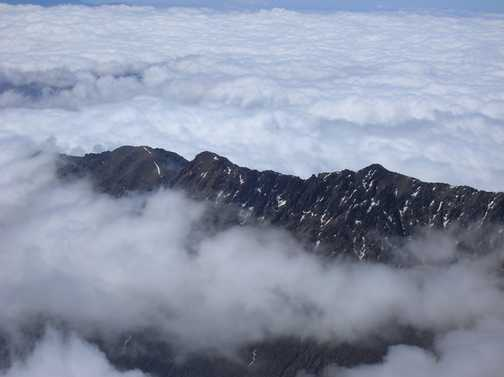 View from Toubkal Summit.