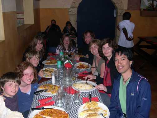 Pizza in Namibia