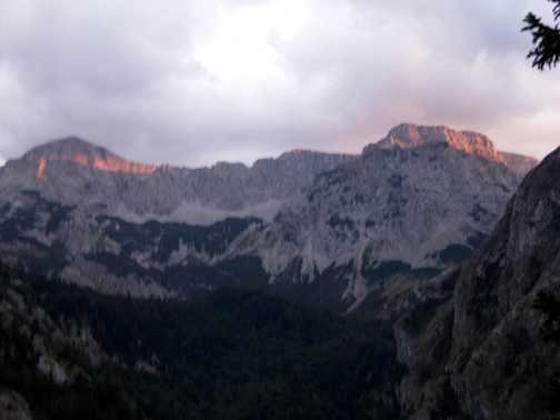 Summit of Maglic