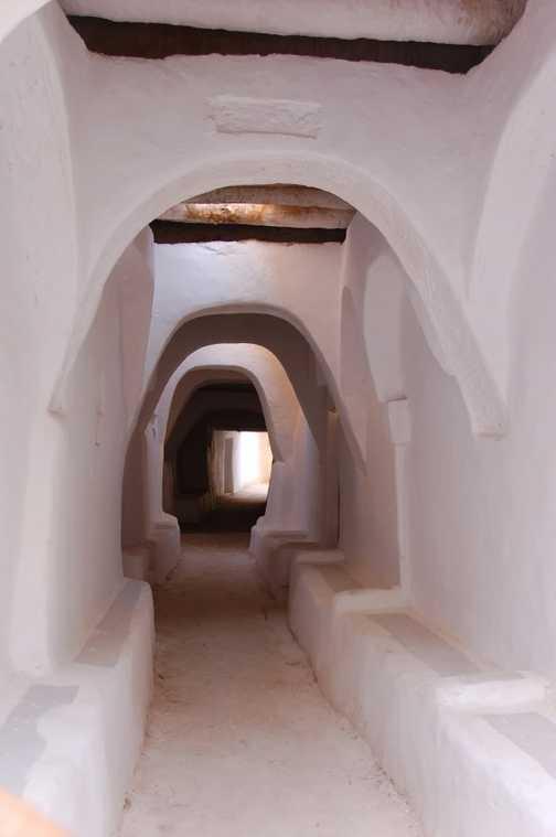 Pasageway in Ghadames