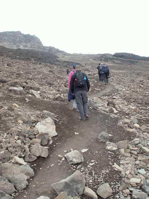 Climb to Barafu