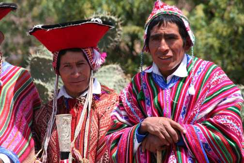 VILLAGE ELDERS AT PISAC