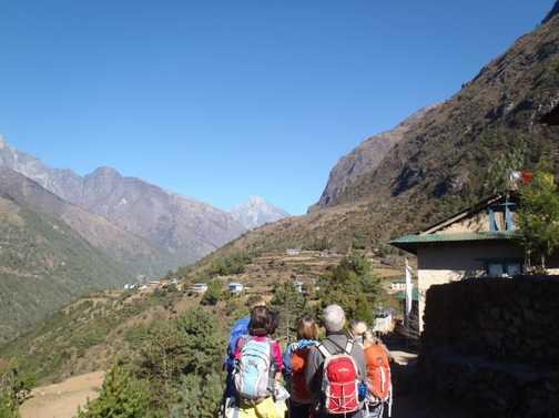 Starting the Trek at Lukla