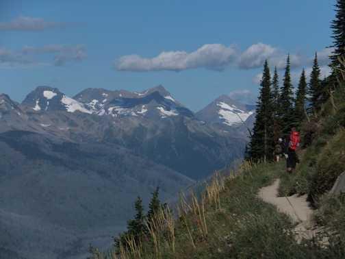 Highline Trail, Glacier National Park.