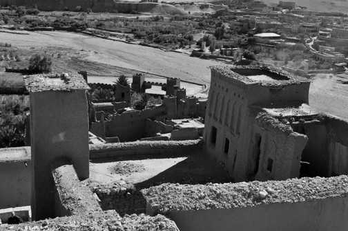 Kasbah of Ait Benhaddou - from the top