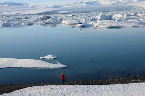 Glacial lagooon