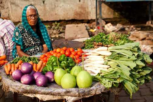 Visit to silk making factories within a Muslim area in Varanasi.