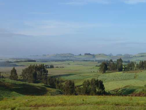 Ethiopia - a green and pleasant land