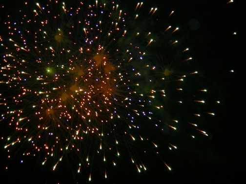 Fireworks in Remedios