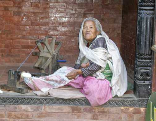 Lady in Bhakapur