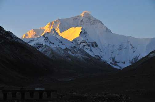 everest at dawn