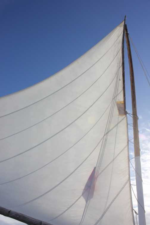 Under sail to the Belize Barrier Reef