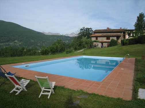 View from the pool, Braccicorti