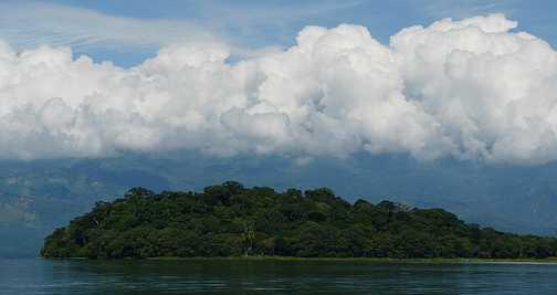 Cloud above
