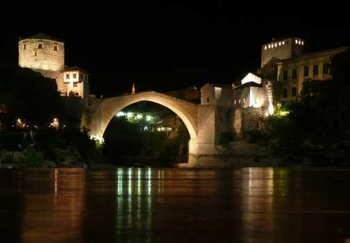 Bridge over troubled waters - Mostar