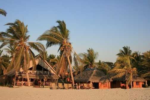 Our beach bungalows at Morondava