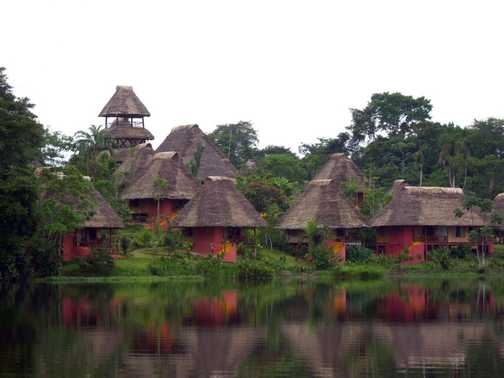Napo Wildlife Center is located by the Anangucocha lake, within the unique ancestral territory of th
