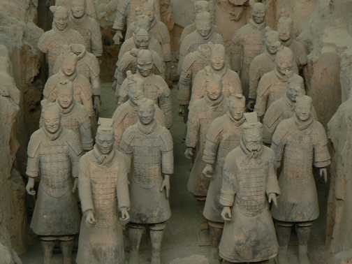 Terracotta Warriors they're watching you!