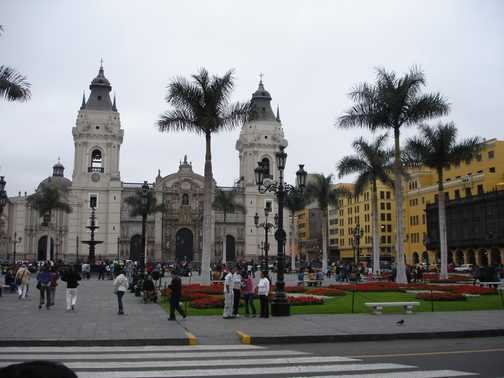Lima - colonial and modern
