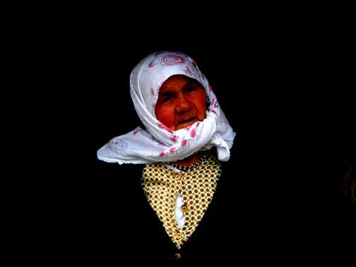 The wise old woman of Lukomir.