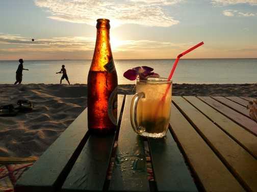 Cocktails at Sundown