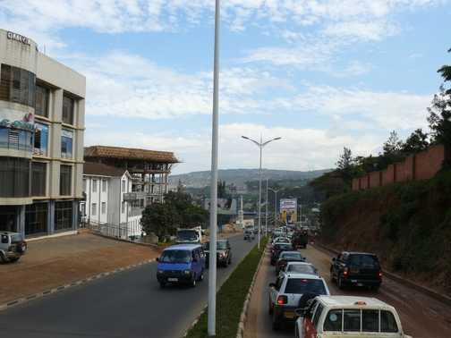Kigali. A beautiful, clean city.