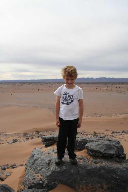 Thomas in the Sahara