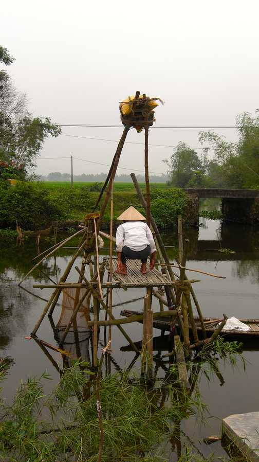 Fishing with Chinese nets