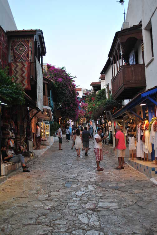 Our favourite street in Kas.