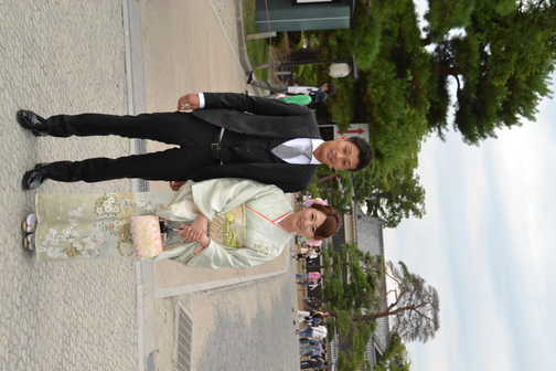 Wedding couple, Matsumoto