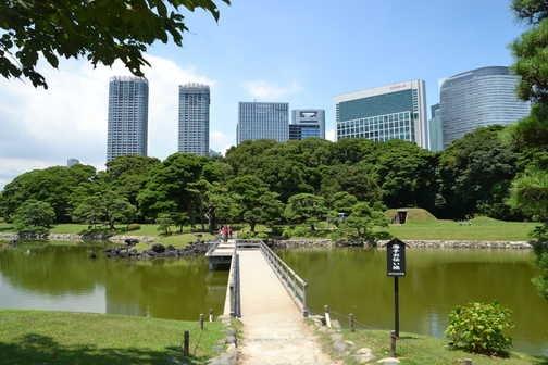 Hama - rikyu gardens, Tokyo