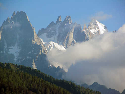 Neil Pittaway Mountain views on the trek