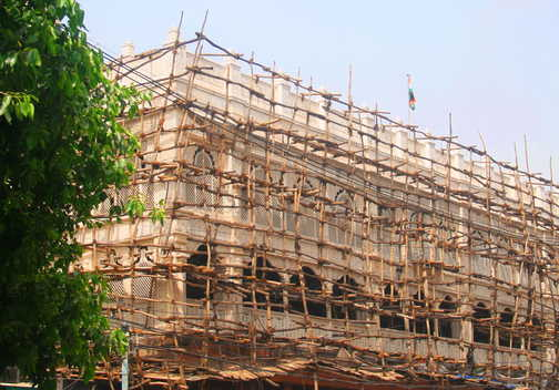 Hi-teck scaffolding