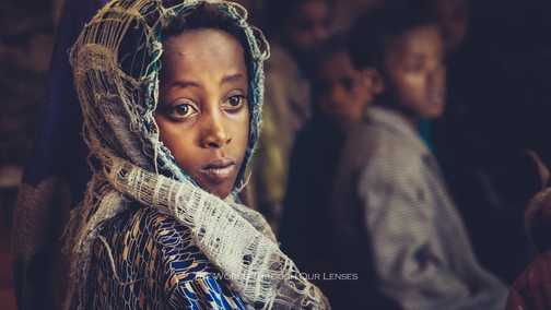 --no title-- (during a visit in an Ethiopian school)