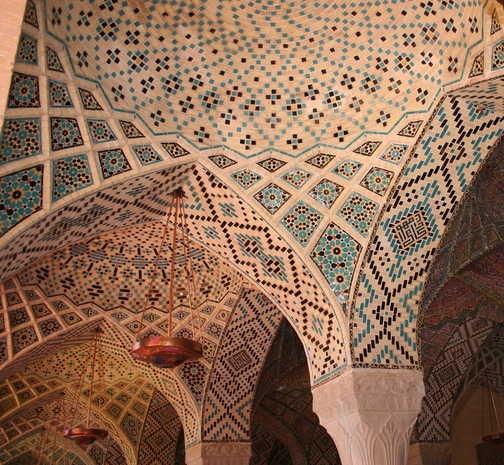 Shiraz - Nasir al-Molk mosque