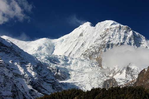 Approaching top of Thorung La