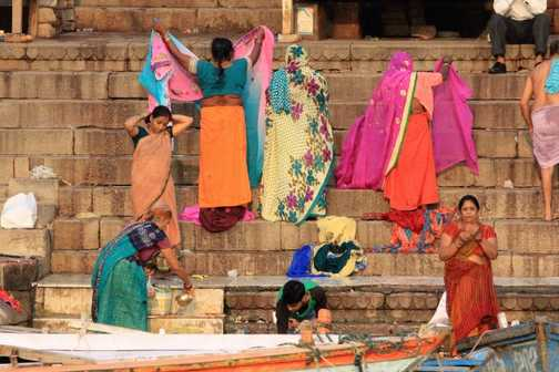 Cleansing everything in the Ganges