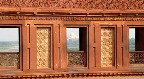 From fort to Taj