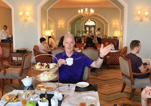 High tea at the Tag Palace Hotel Mumbai