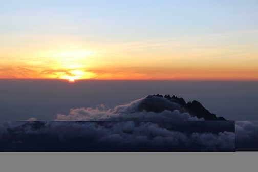 Sunrise from Stella point